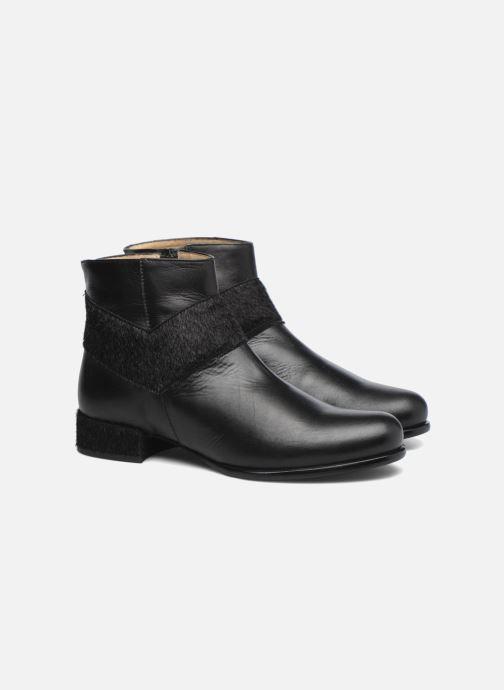 Bottines et boots Made by SARENZA Winter Ski #15 Noir vue derrière