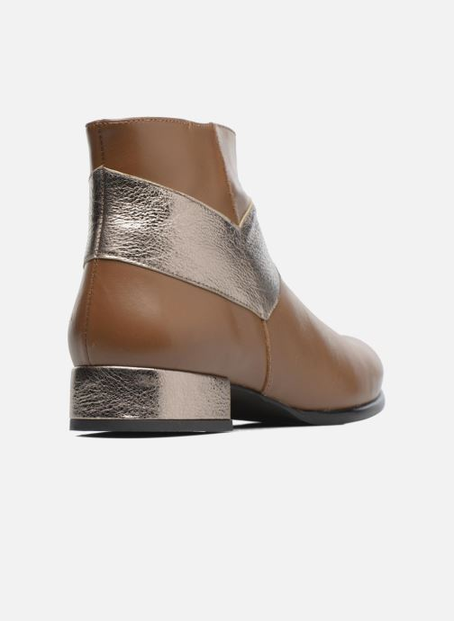 Bottines et boots Made by SARENZA Winter Ski #15 Marron vue face
