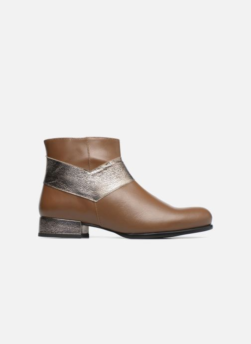 Ankle boots Made by SARENZA Winter Ski #15 Brown detailed view/ Pair view