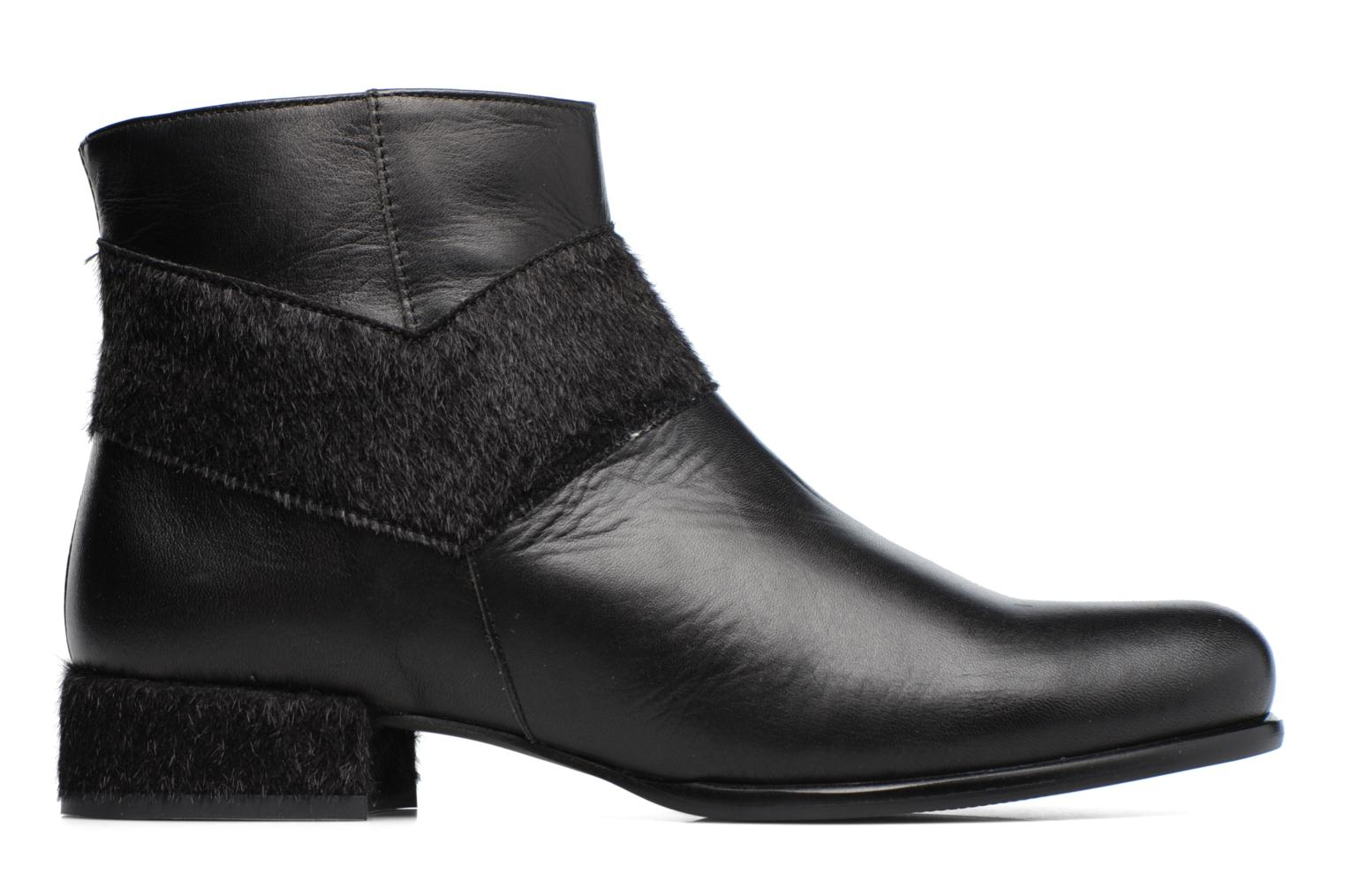 Ankle boots Made by SARENZA Winter Ski #15 Black detailed view/ Pair view