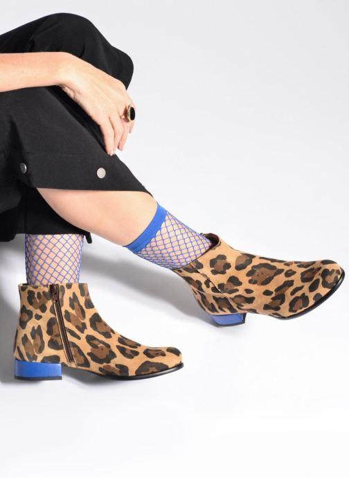Bottines et boots Made by SARENZA Winter Freak #7 Argent vue bas / vue portée sac