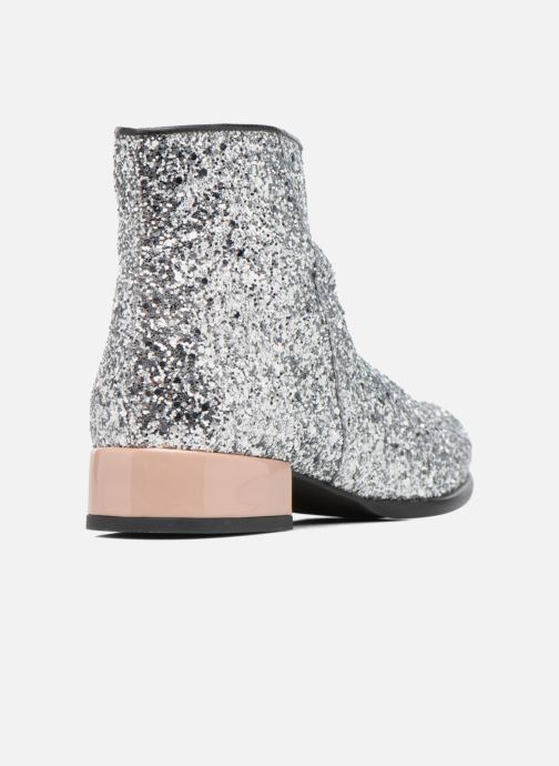 Bottines et boots Made by SARENZA Winter Freak #7 Argent vue face
