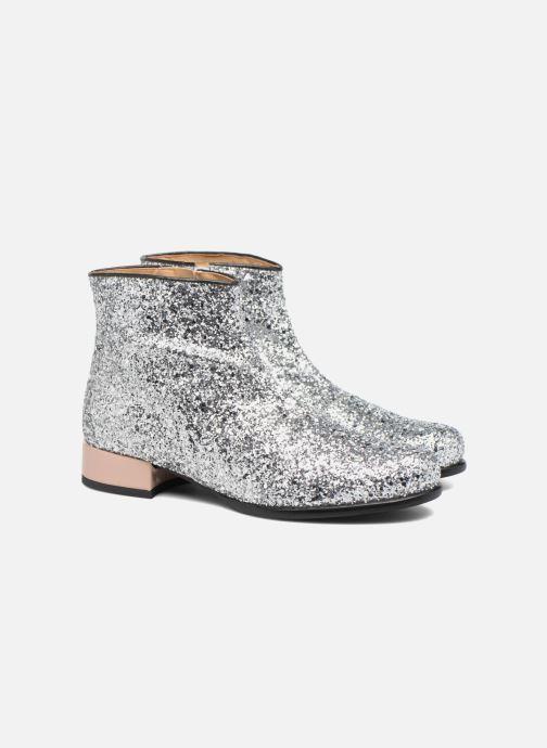 Bottines et boots Made by SARENZA Winter Freak #7 Argent vue derrière