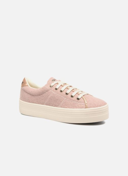 Baskets No Name Plato sneaker wake Rose vue détail/paire