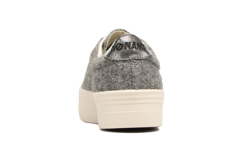 Baskets No Name Plato sneaker wake Gris vue droite