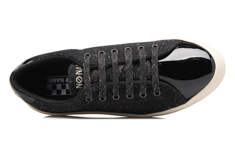Baskets No Name Plato sneaker patent Noir vue gauche