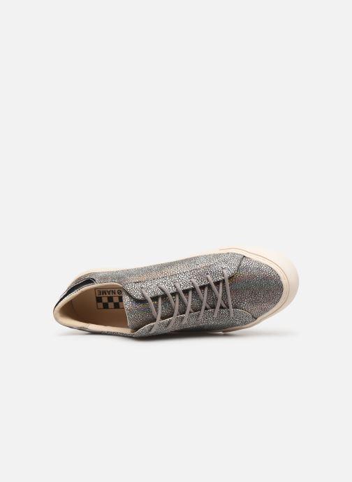 Baskets No Name Arcade Sneaker Magma Argent vue gauche