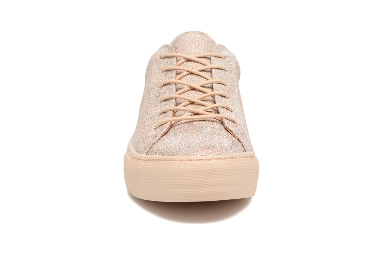 Sneakers No Name Arcade Sneaker Magma Rosa modello indossato