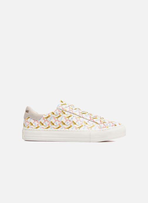 Baskets No Name Arcade sneaker pink nappa print tiger Blanc vue derrière