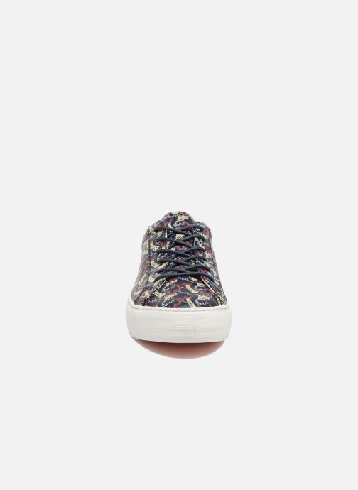 Sneakers No Name Arcade sneaker pink nappa print tiger Blauw model