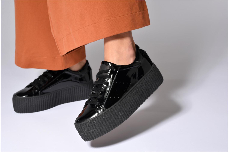 Baskets No Name Wild sneaker patent Noir vue bas / vue portée sac