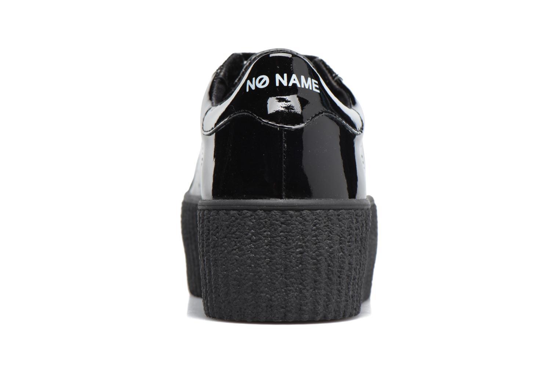 Baskets No Name Wild sneaker patent Noir vue droite