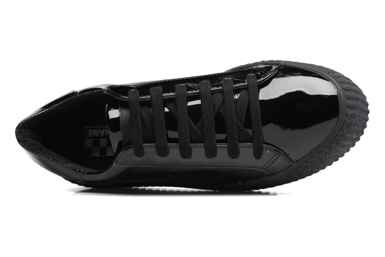 Baskets No Name Wild sneaker patent Noir vue gauche