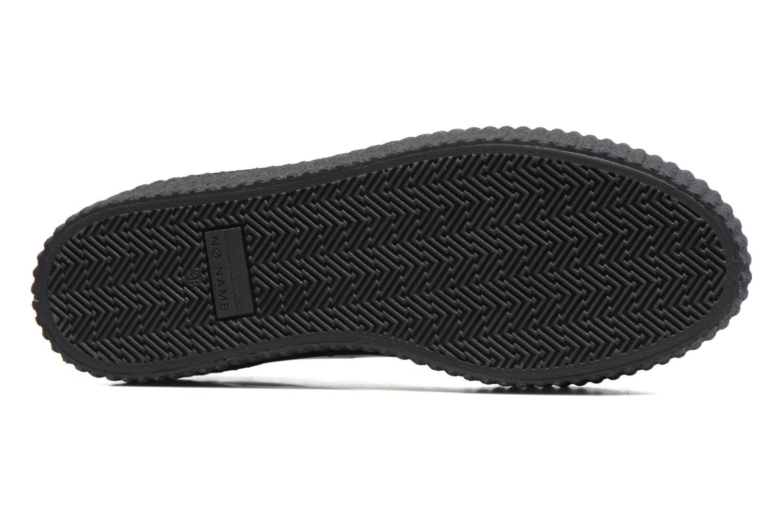 Baskets No Name Wild sneaker patent Noir vue haut