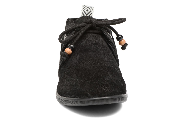 Baskets Armistice Stone mid cut oxyde Noir vue portées chaussures