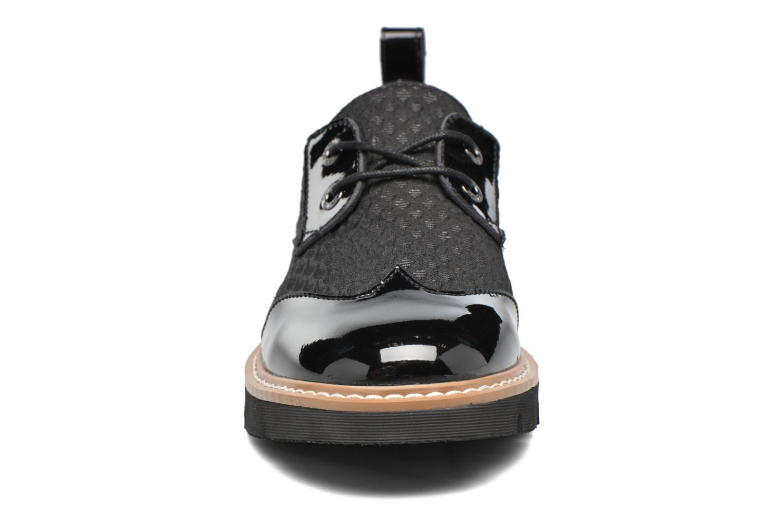 Chaussures à lacets Armistice Fox derby palace Noir vue portées chaussures