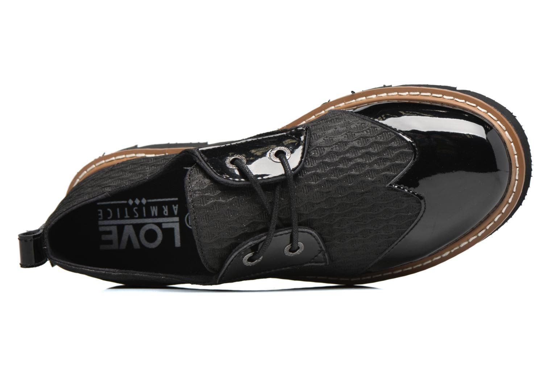 Chaussures à lacets Armistice Fox derby palace Noir vue gauche