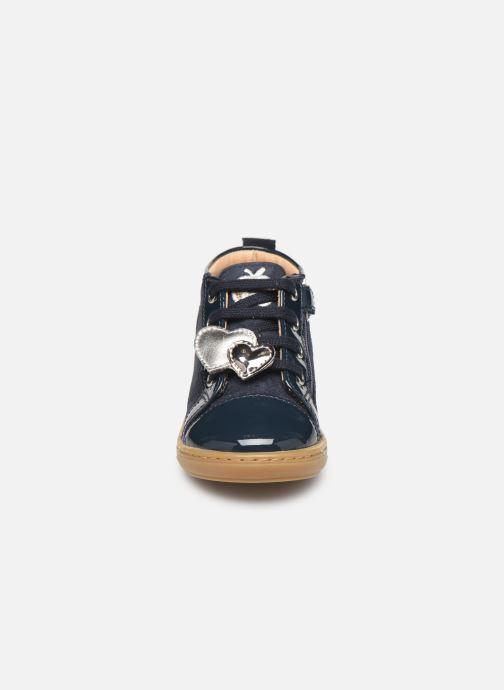 Bottines et boots Shoo Pom Bouba Heart Bleu vue portées chaussures