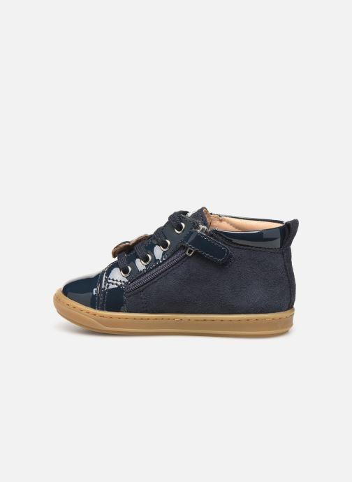 Bottines et boots Shoo Pom Bouba Heart Bleu vue face