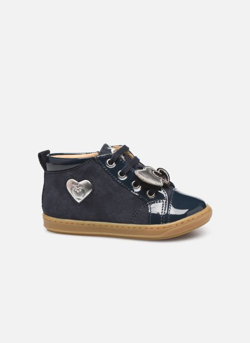 Bottines et boots Shoo Pom Bouba Heart Bleu vue derrière