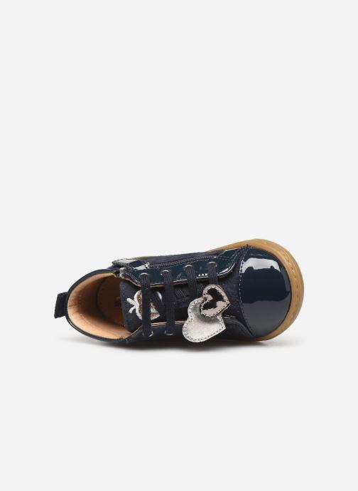 Bottines et boots Shoo Pom Bouba Heart Bleu vue gauche