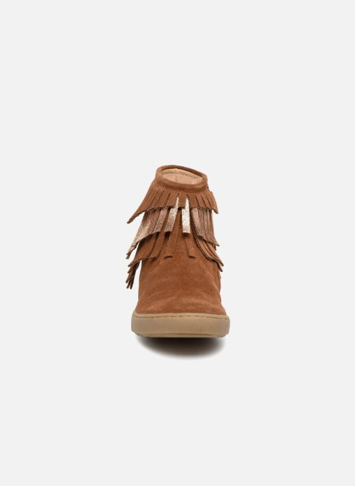 Ankle boots Shoo Pom Play Huron Brown model view