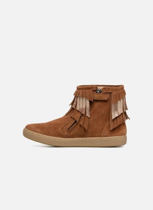 Ankle boots Shoo Pom Play Huron Brown front view