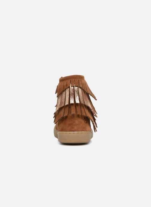 Ankle boots Shoo Pom Play Huron Brown view from the right