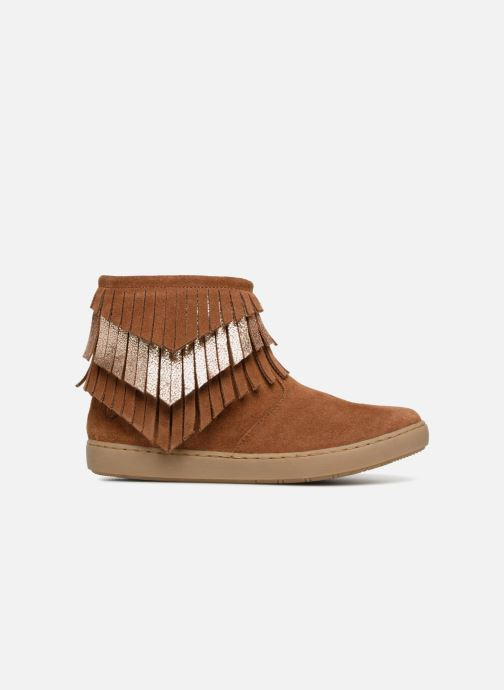 Ankle boots Shoo Pom Play Huron Brown back view