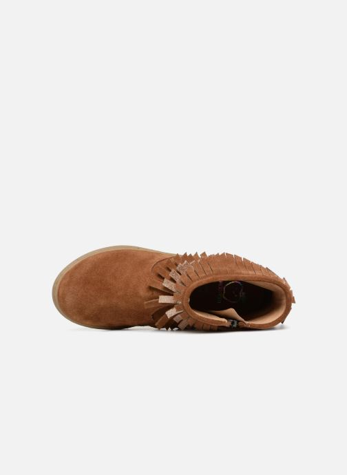 Ankle boots Shoo Pom Play Huron Brown view from the left