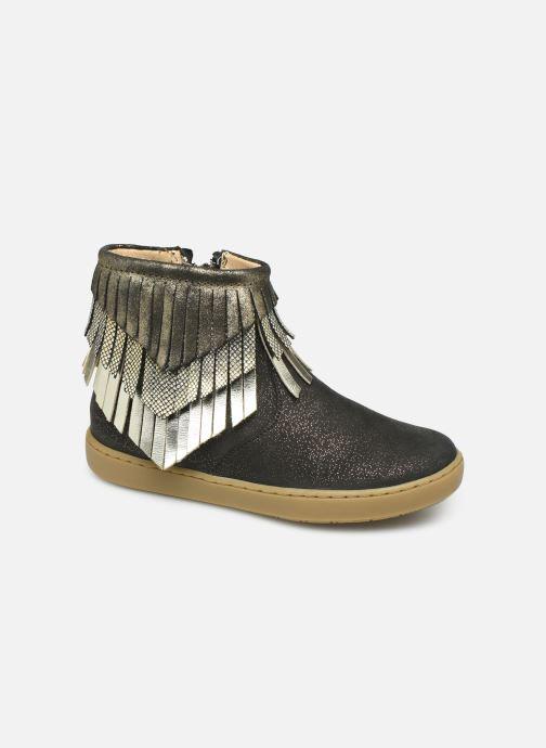 Boots en enkellaarsjes Shoo Pom Play Huron Zwart detail
