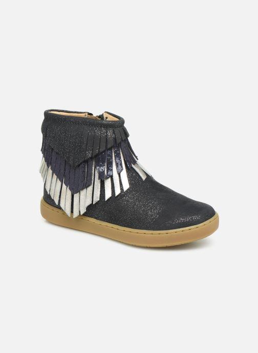 Boots en enkellaarsjes Shoo Pom Play Huron Blauw detail