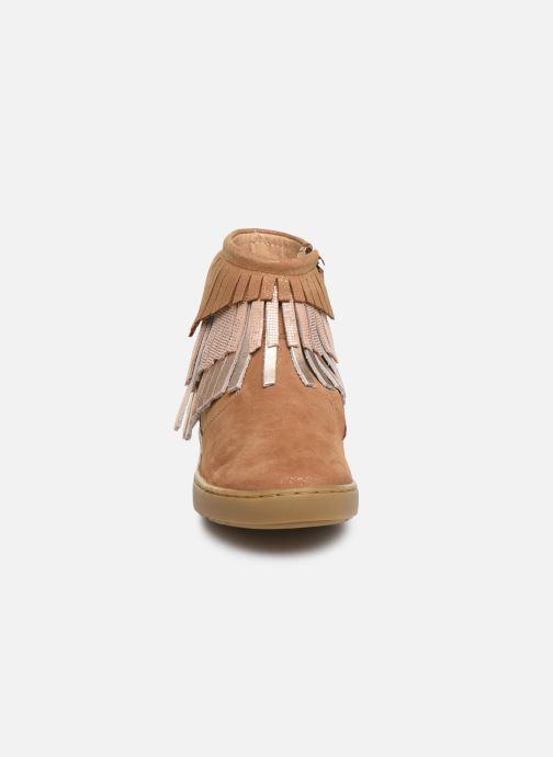 Bottines et boots Shoo Pom Play Huron Marron vue portées chaussures