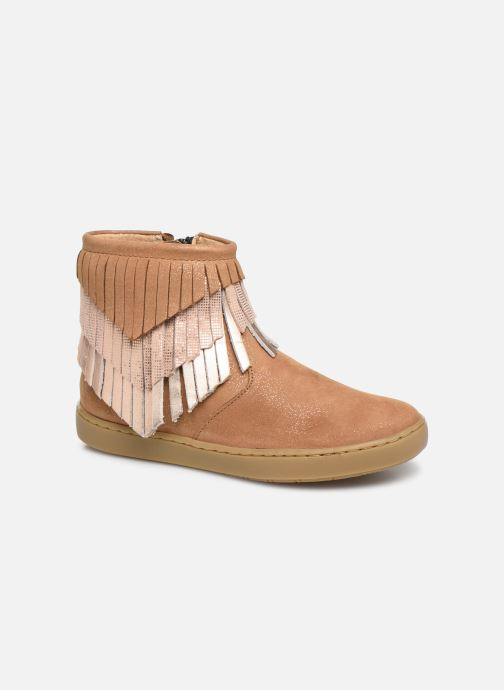 Bottines et boots Shoo Pom Play Huron Marron vue détail/paire