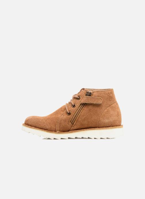 Chaussures à lacets Shoo Pom Milky Desert Marron vue face