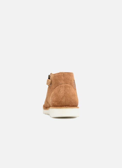 Chaussures à lacets Shoo Pom Milky Desert Marron vue droite