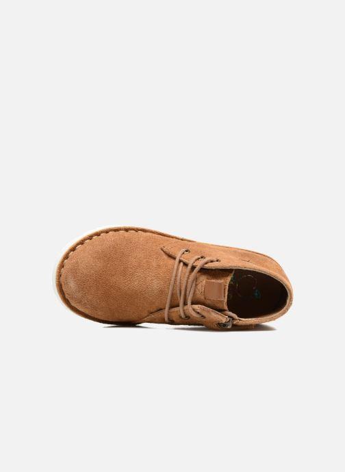 Chaussures à lacets Shoo Pom Milky Desert Marron vue gauche