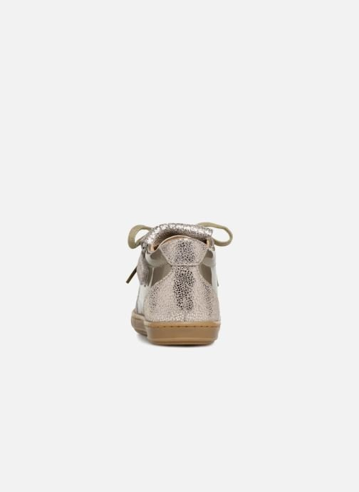 Ankle boots Shoo Pom Bouba Mex Silver view from the right
