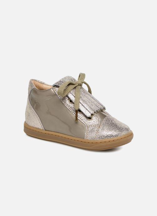 Bottines et boots Shoo Pom Bouba Mex Argent vue détail/paire