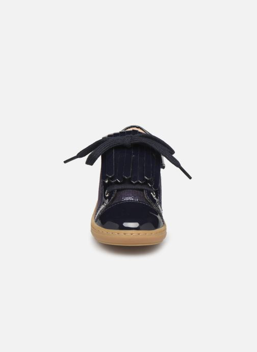 Bottines et boots Shoo Pom Bouba Mex Bleu vue portées chaussures