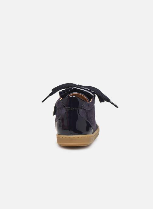 Bottines et boots Shoo Pom Bouba Mex Bleu vue droite