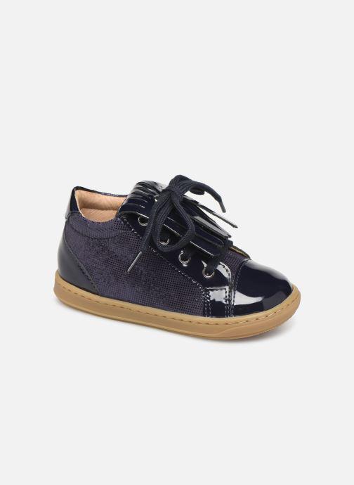 Bottines et boots Shoo Pom Bouba Mex Bleu vue détail/paire
