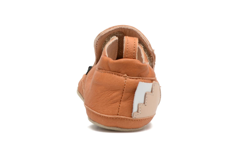 Pantoffels Shoo Pom Chou Fox Bruin rechts