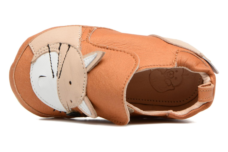 Pantoffels Shoo Pom Chou Fox Bruin links