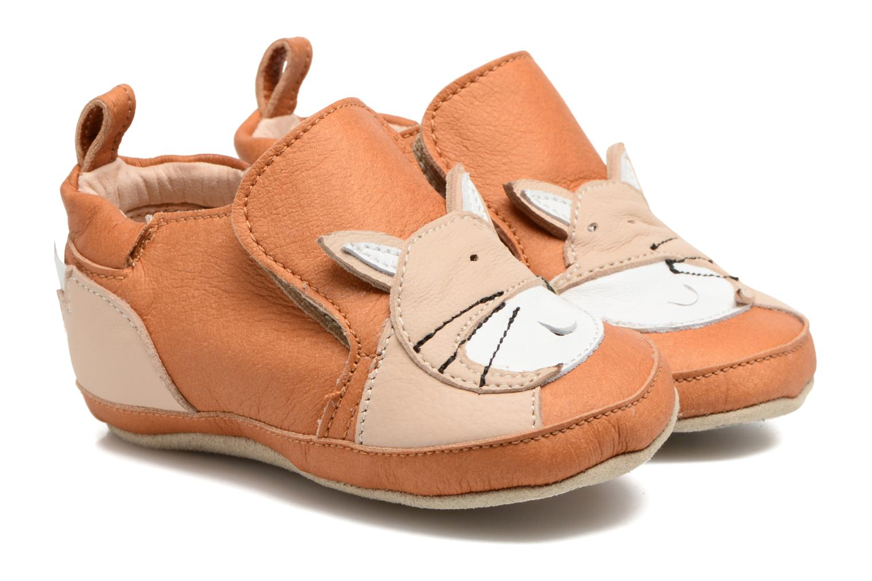 Pantoffels Shoo Pom Chou Fox Bruin detail