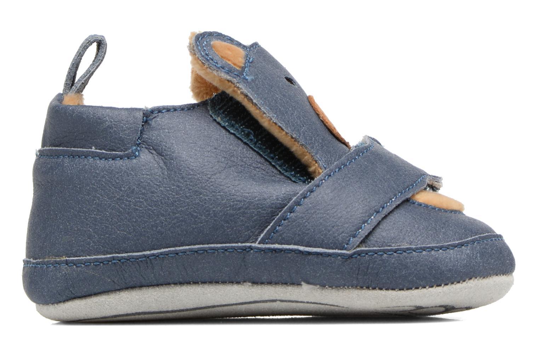 Pantofole Shoo Pom Chou Teddy Boy Azzurro immagine posteriore
