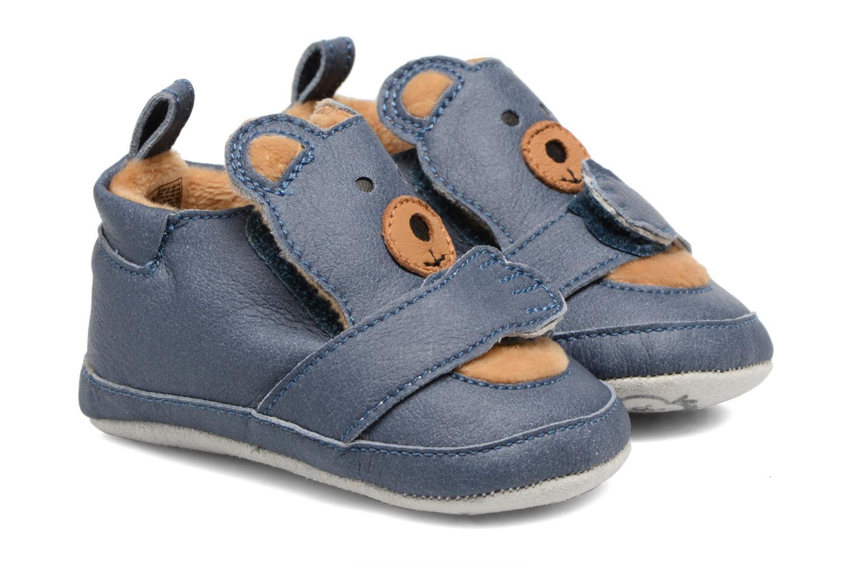 Pantofole Shoo Pom Chou Teddy Boy Azzurro vedi dettaglio/paio