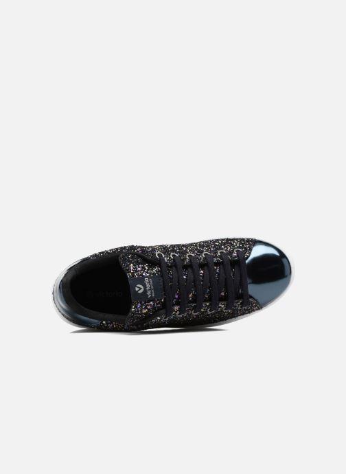 Sneakers Victoria Deportivo Basket Glitter W Blauw links