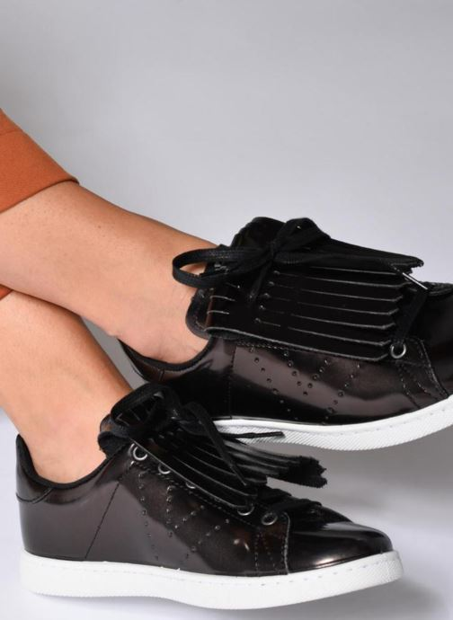 Sneakers Victoria Deportivo Flecos Espejo Nero immagine dal basso