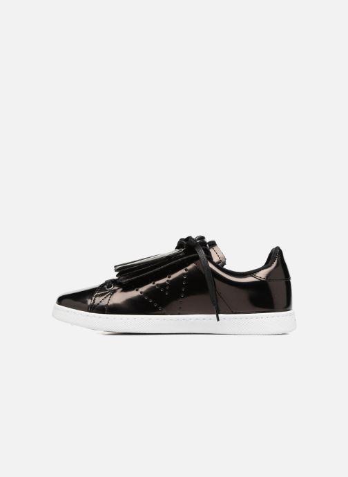 Sneakers Victoria Deportivo Flecos Espejo Zwart voorkant